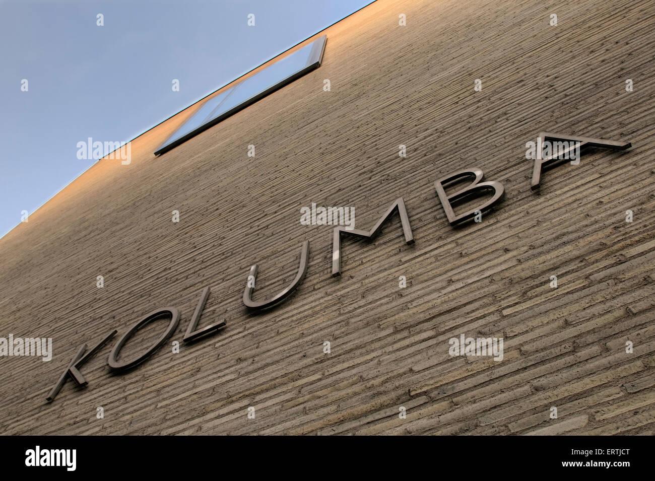 Kolumba diocese museum of the cologne catholic church germany europe Stock Photo
