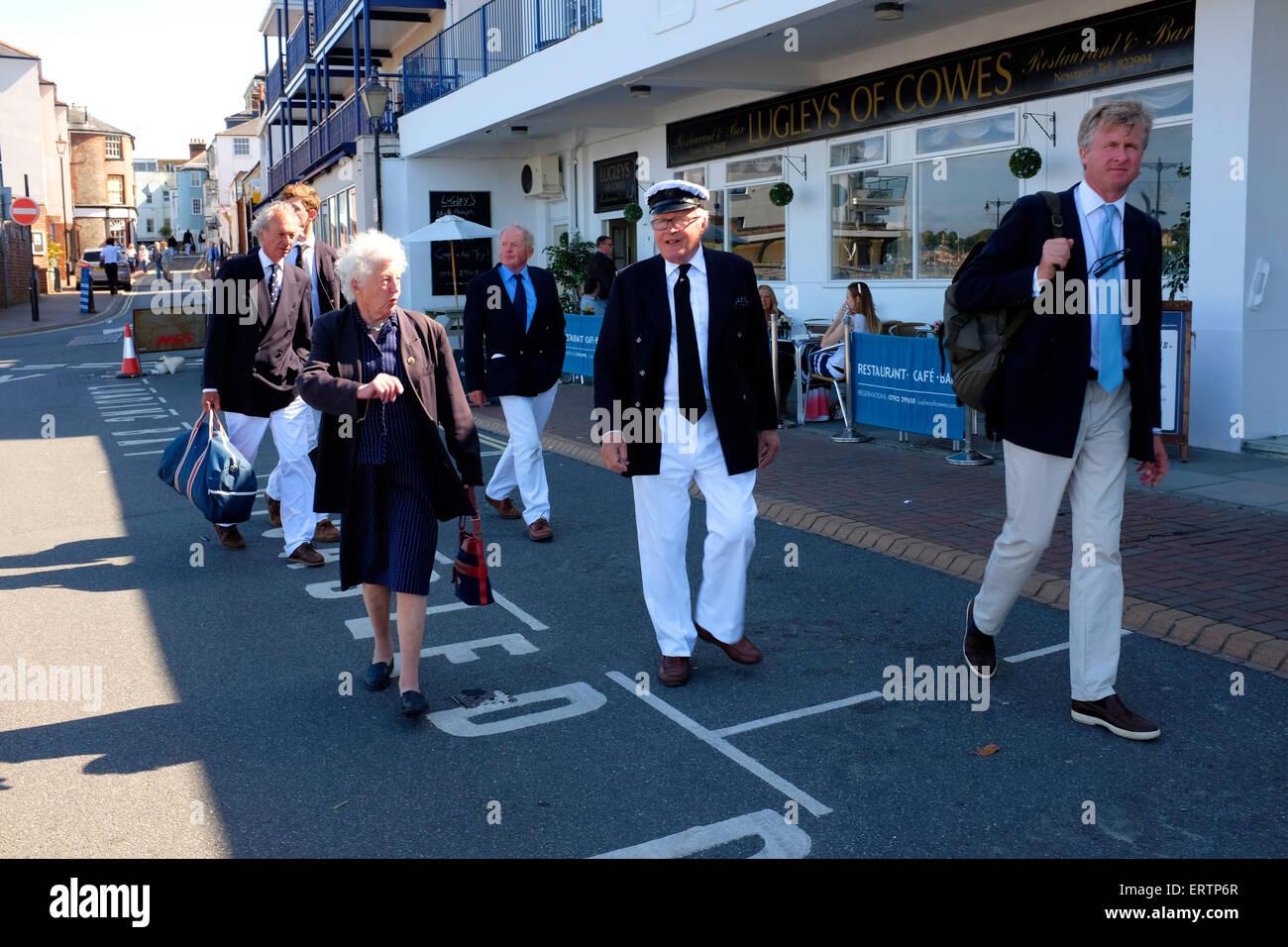 HRH, Prince Phillip, Duke of Edinburgh, Anniversary, 200th, 200 years, of, RYS, Royal Yacht Squadron, celebrations, - Stock Image