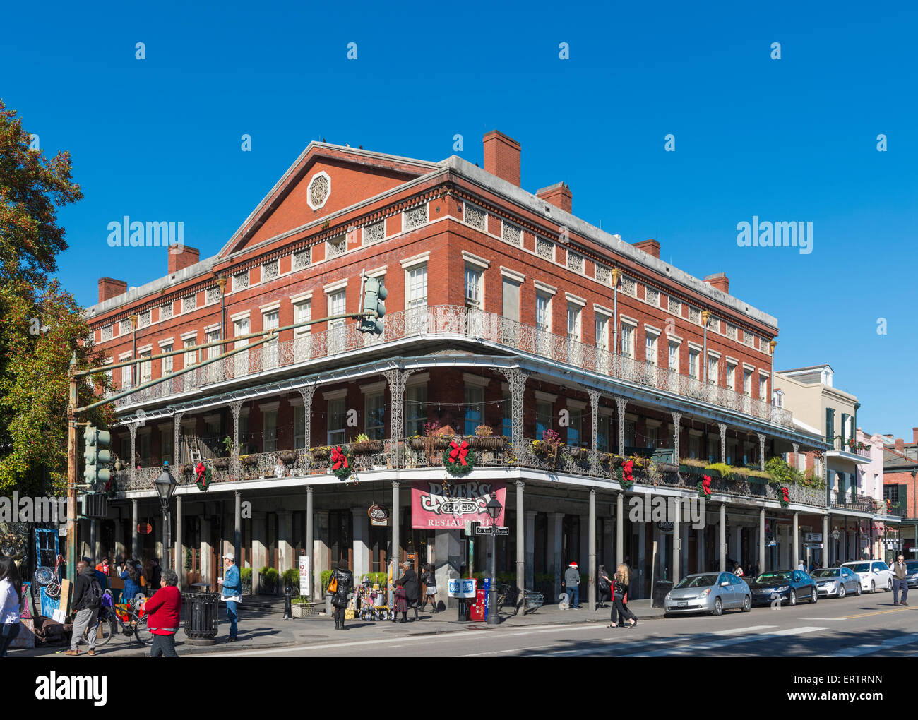 New Orleans French Quarter Louisiana Usa River S Edge