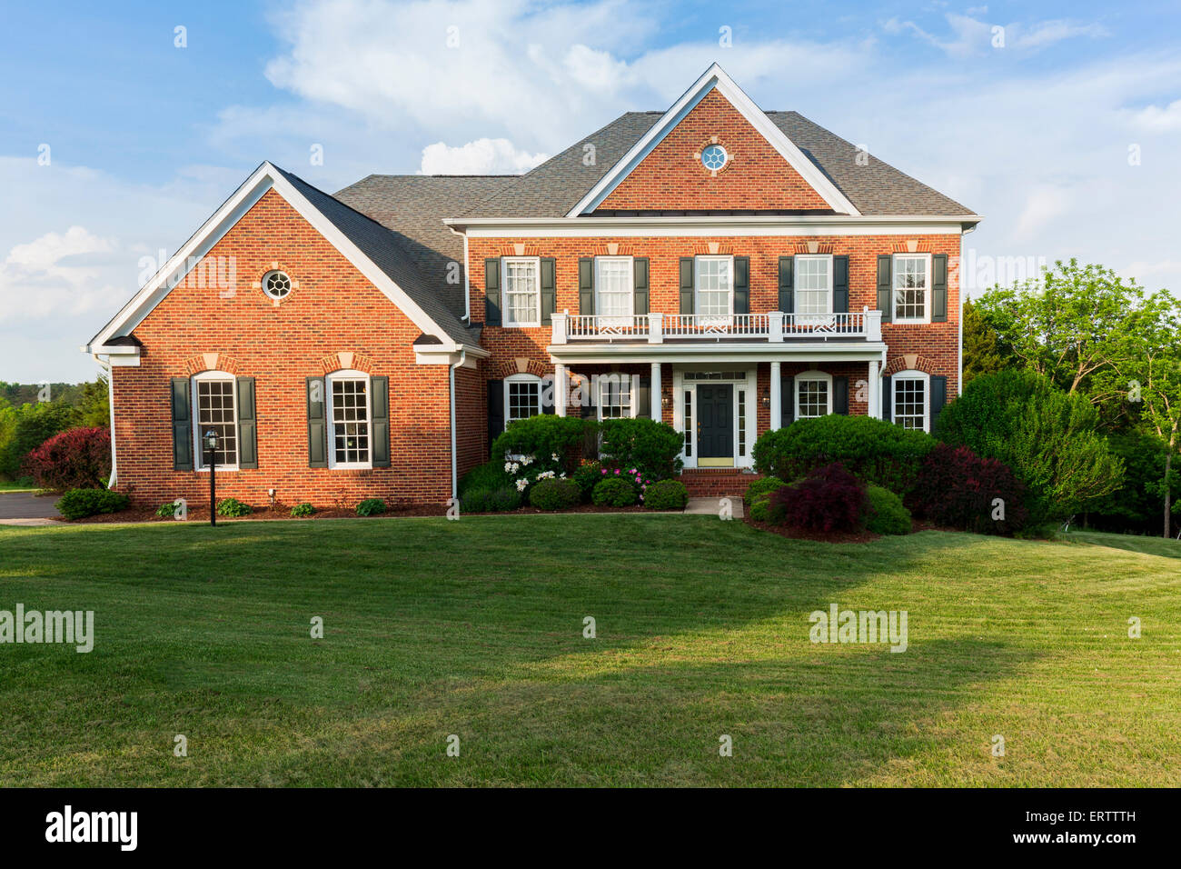Large detached house, USA - Stock Image