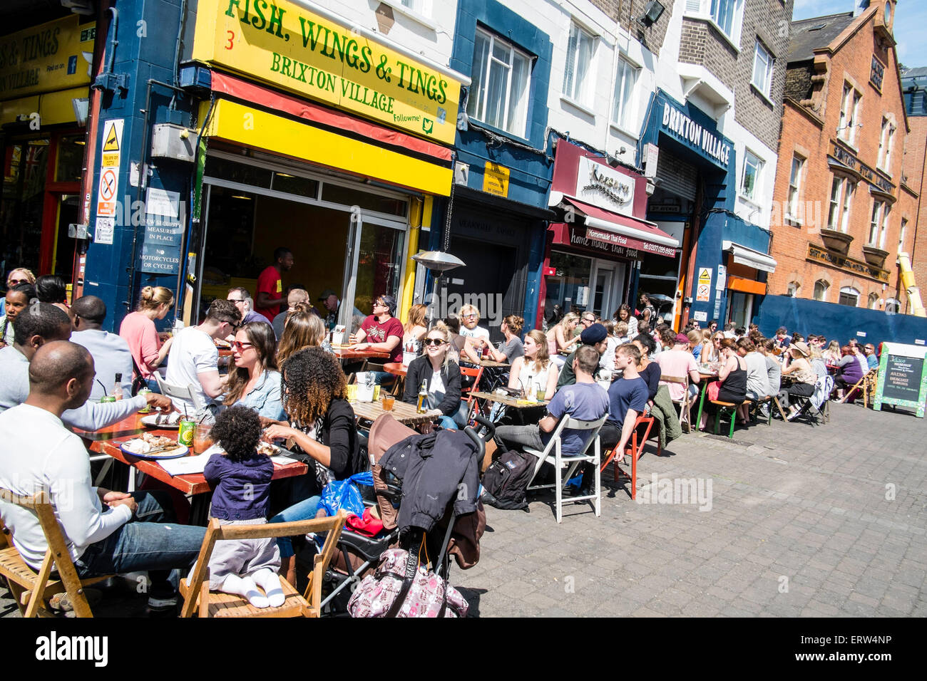 Brixton, London, United Kingdom - Stock Image