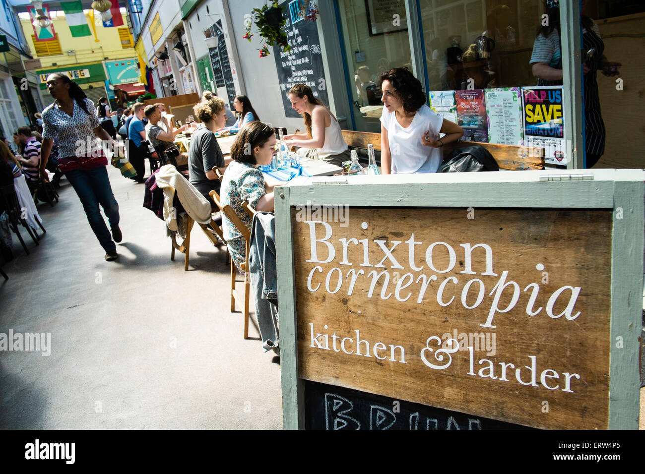Brixton, London, United Kingdom - Stock Image