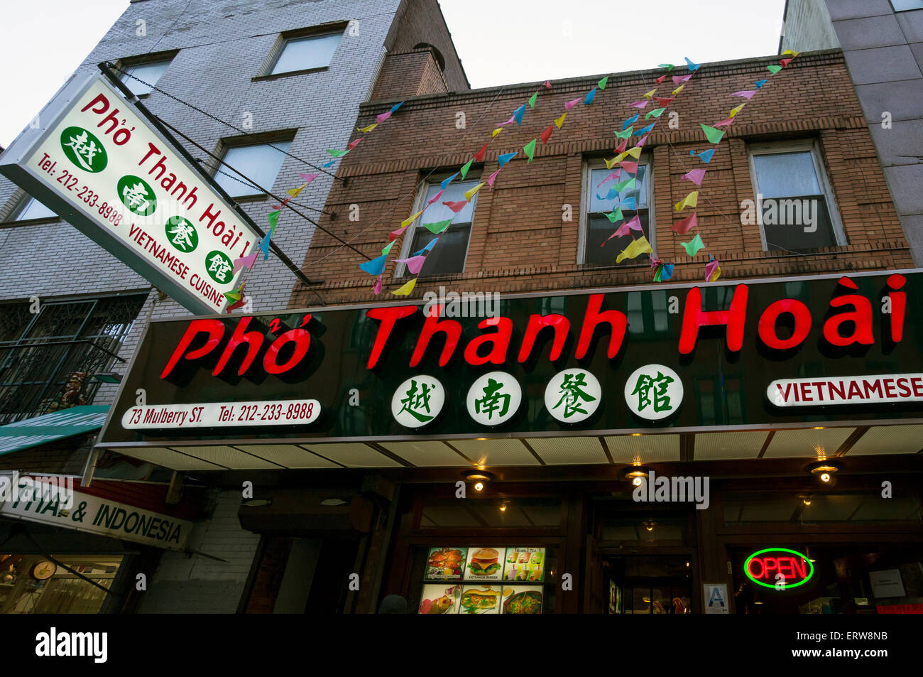 Pho Thanh Hoai A Vietnamese Restaurant On Mulberry Street