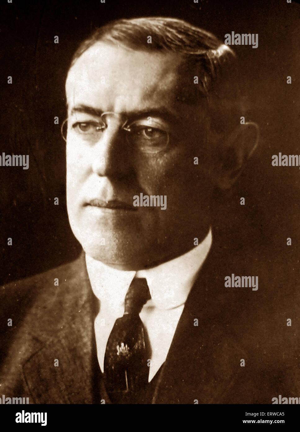 President Wilson - Stock Image