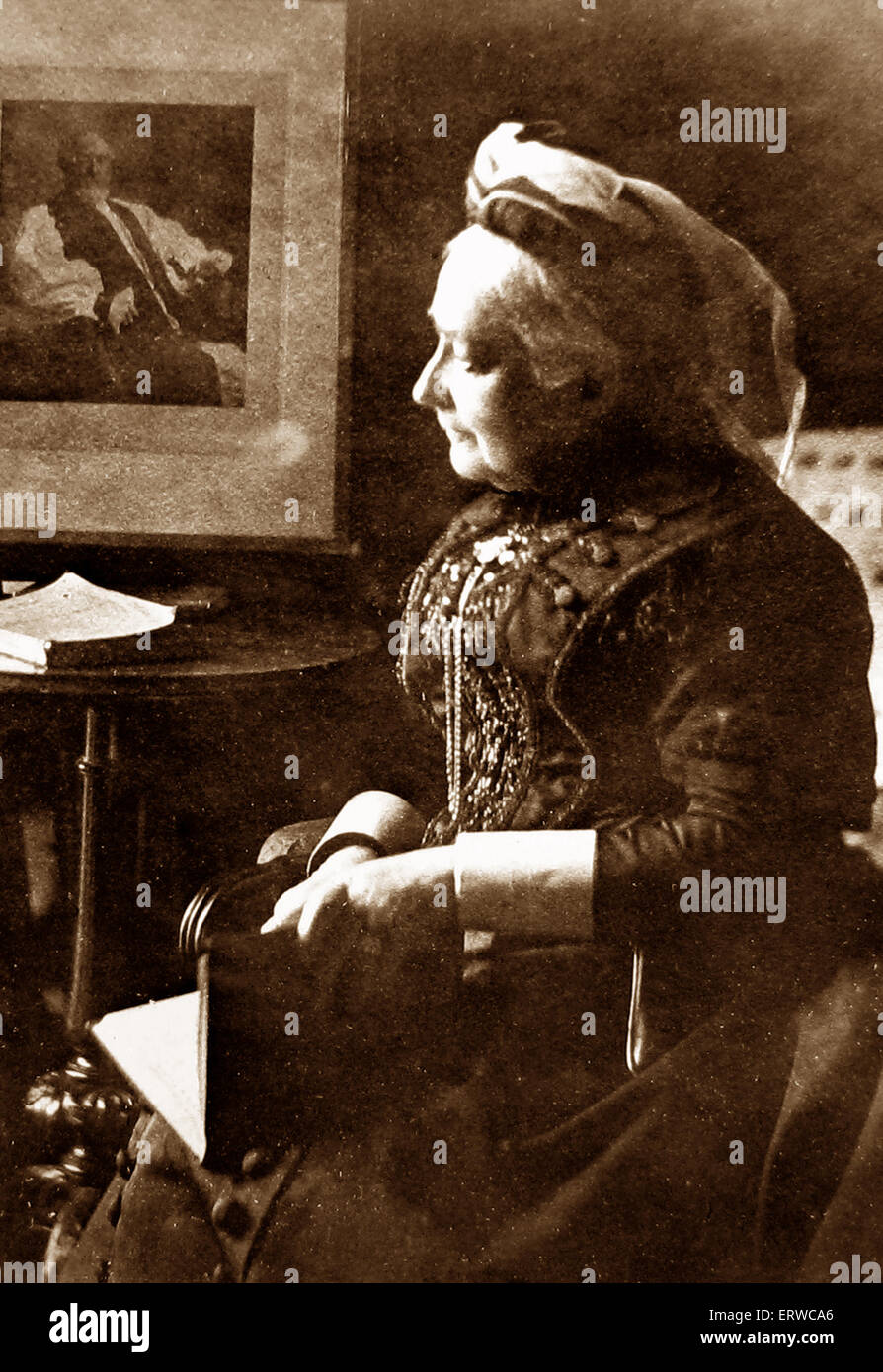 Mary Sumner founder of the Mother's Union - Stock Image