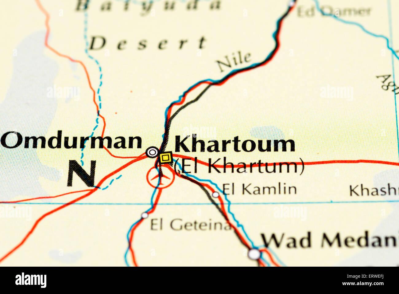 Map Of Sudan Stock Photos & Map Of Sudan Stock Images - Alamy Khartoum Sudan Road Map on atlas mountains map, egypt and sudan map, nile sudan map, damascus syria map, casablanca morocco map, accra ghana map, zambezi river africa map, south sudan region map, south sudan natural resources map, tehran map, istanbul turkey map, tripoli libya map, tel aviv map, dongola sudan map, nairobi map, riyadh map, nile river map, s. sudan map, mogadishu somalia map,