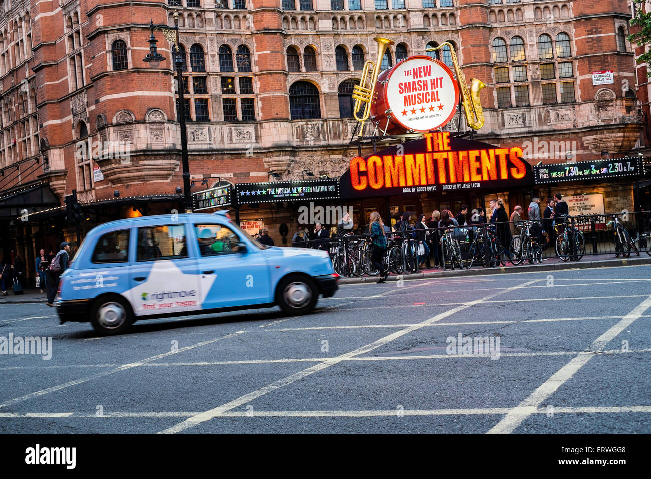 Cambridge Circus, London, United Kingdom - Stock Image