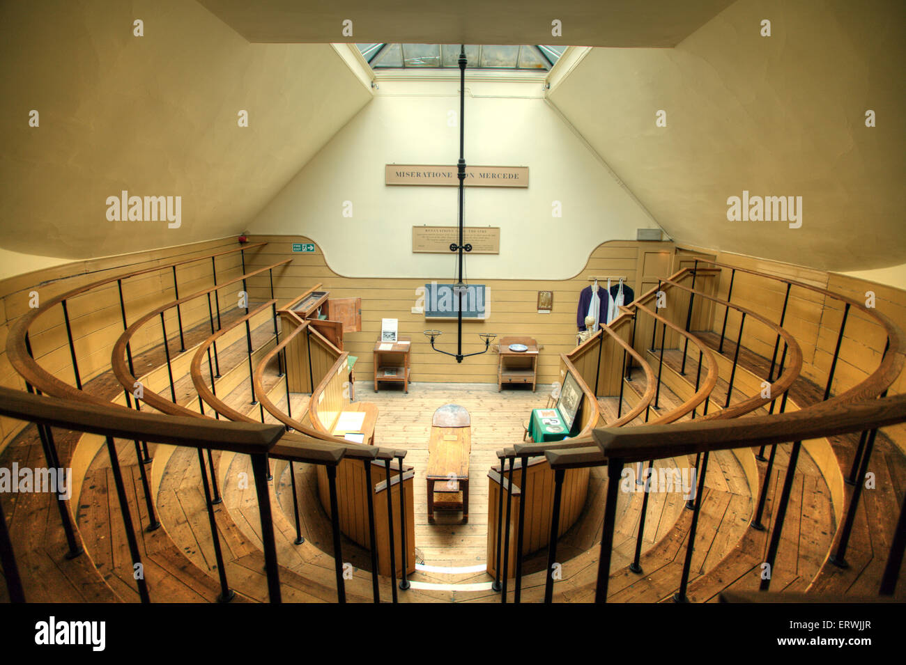 The Old Operating Theatre, Herb Garret, London Museum - Stock Image