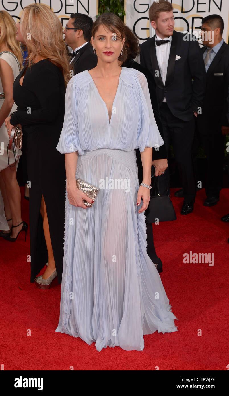 Actress Amanda Peet - Stock Image