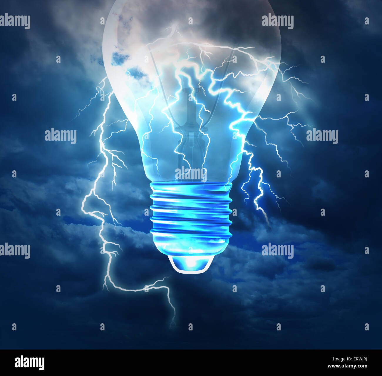 brainstorm creative idea concept or brainstorming symbol as a stock