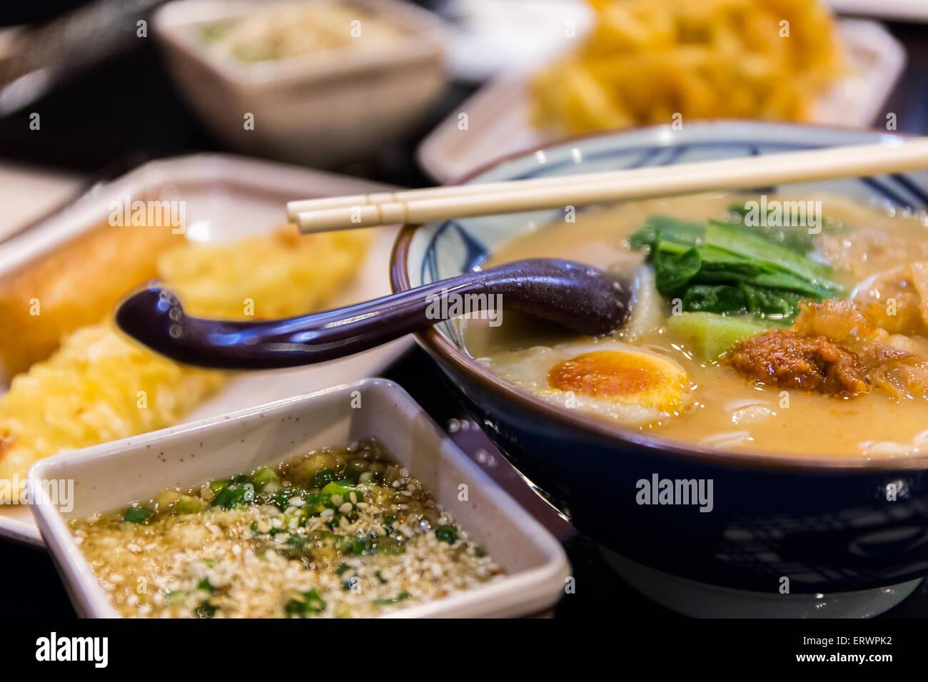 Ramen, Japanese Food - Stock Image
