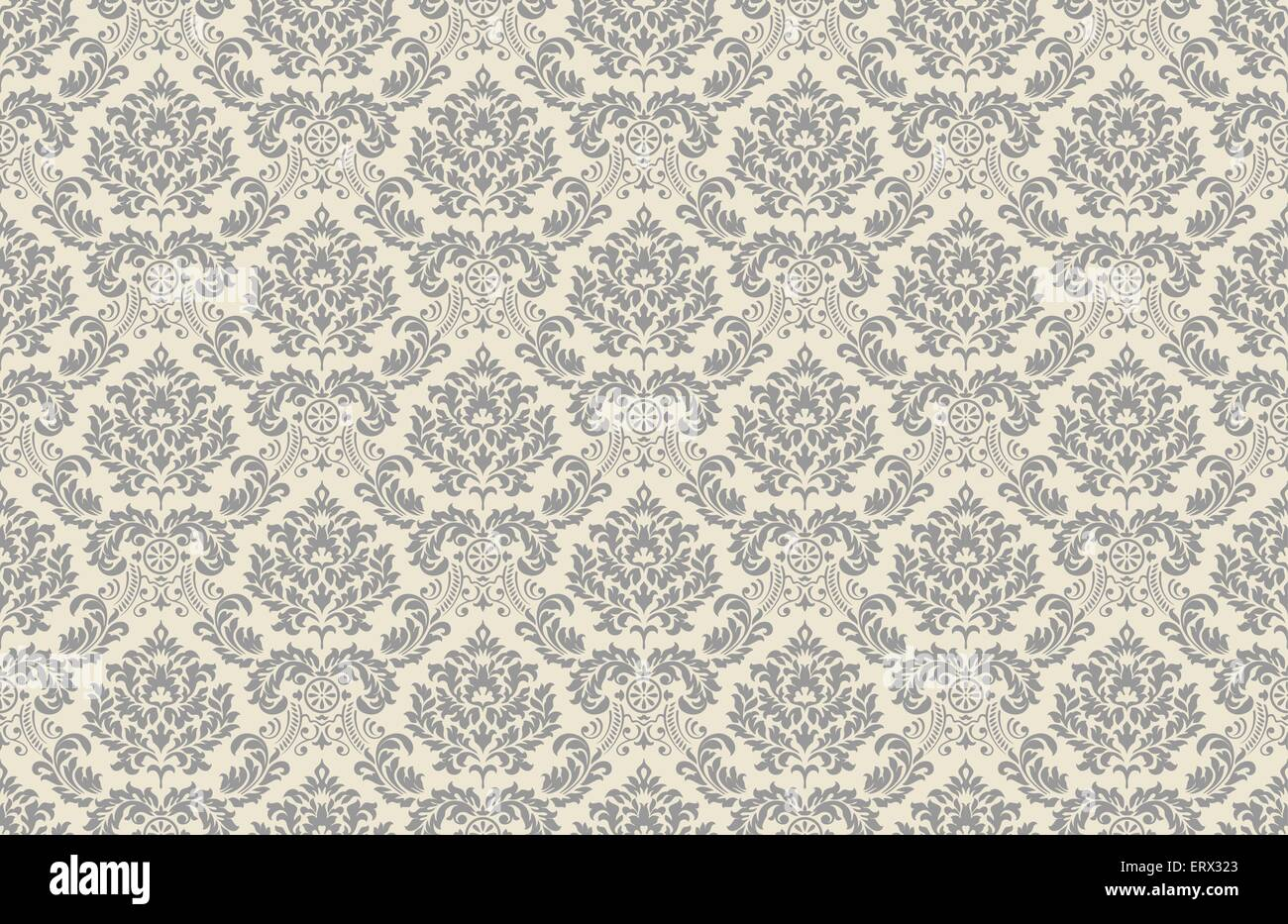 seamless vintage wallpaper pattern  vector background