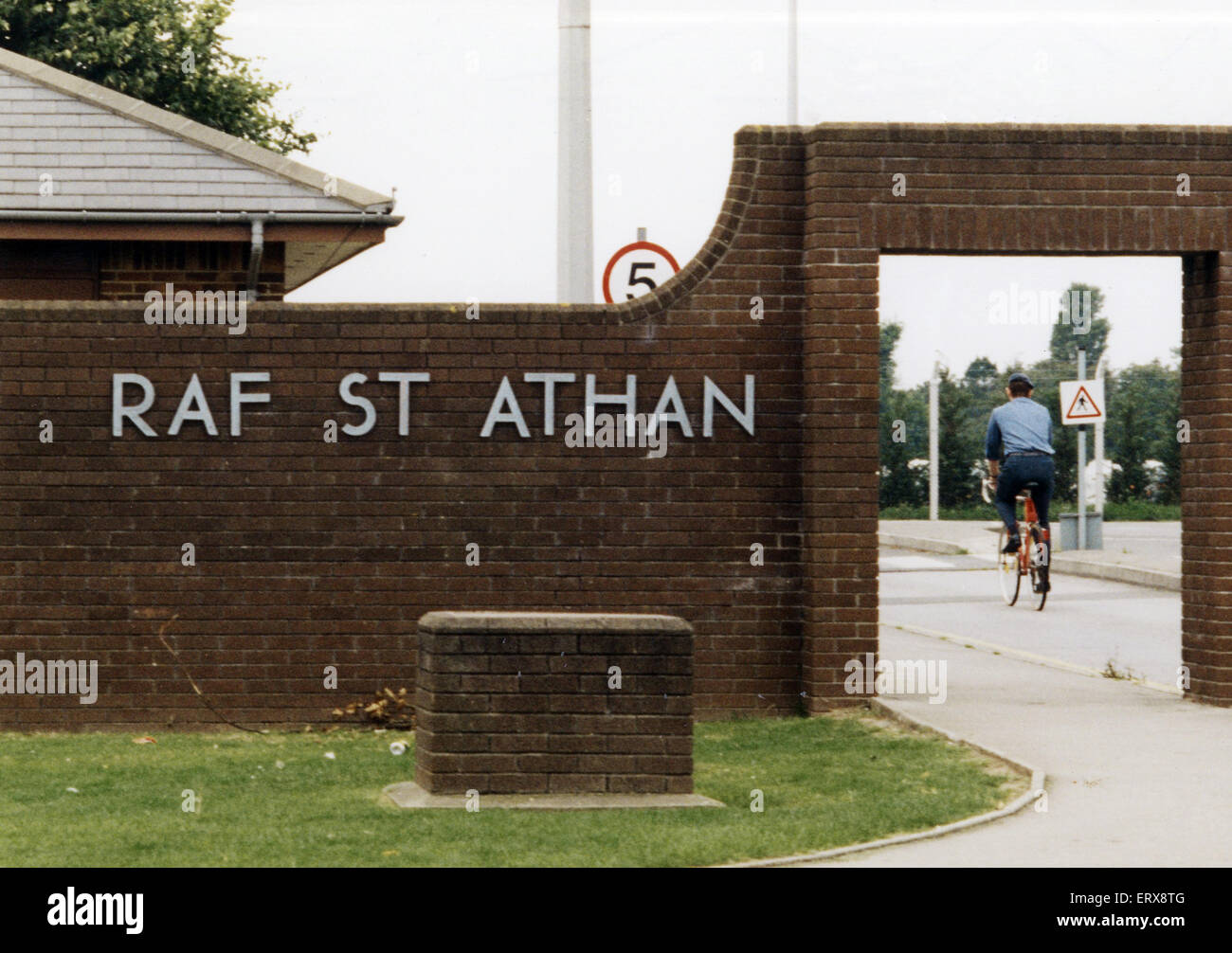 RAF St Athan, in the Vale of Glamorgan, southern Wales. 3rd September 1996. - Stock Image