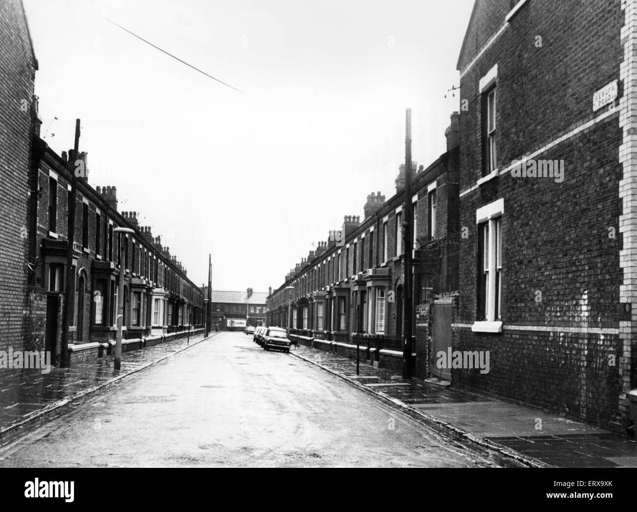 Kemlyn Road, Anfield, Liverpool 15th March 1978 - Stock Image