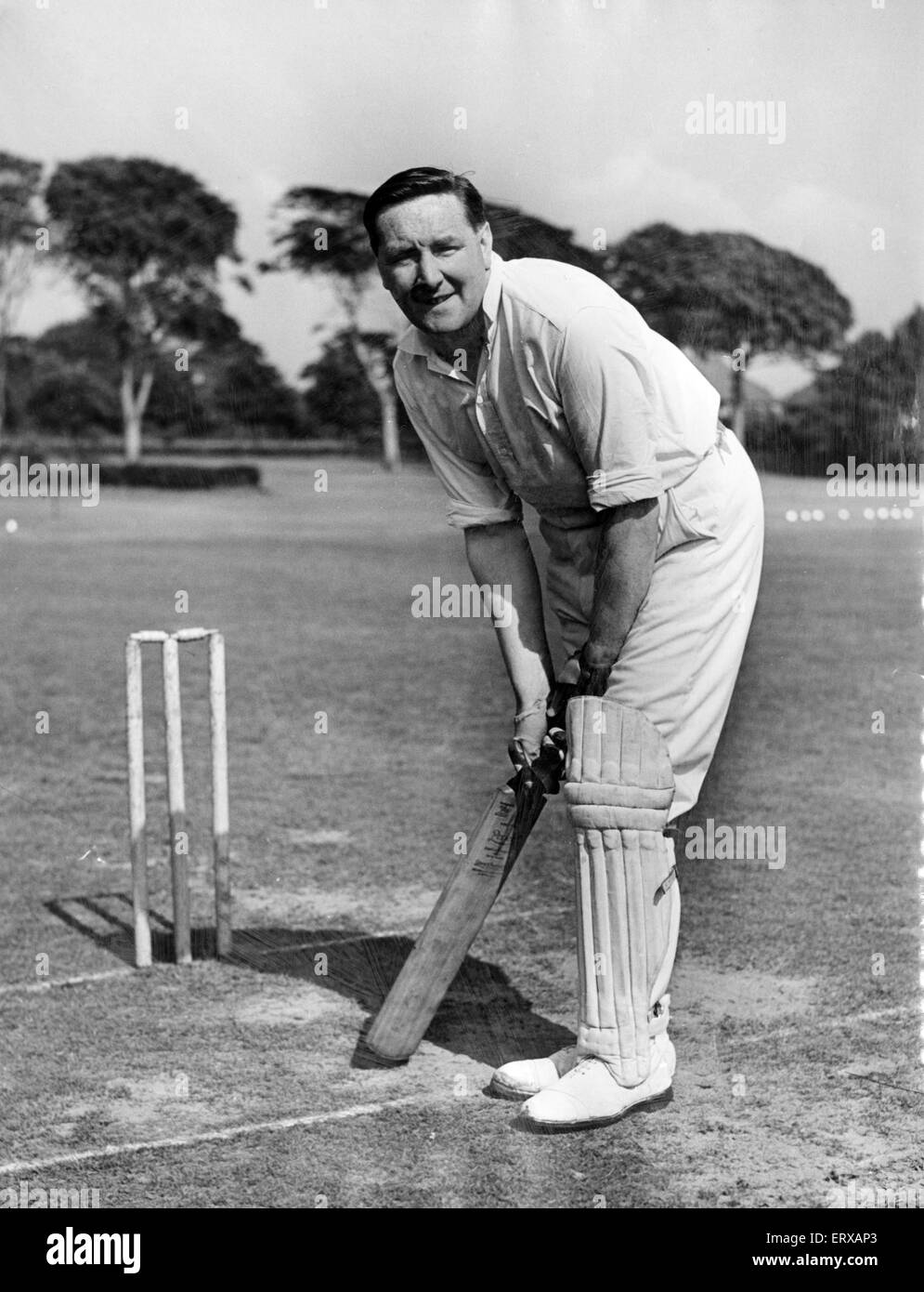 Horace Yates, 30th August 1951. Daily Post Chief Sports Writer. - Stock Image