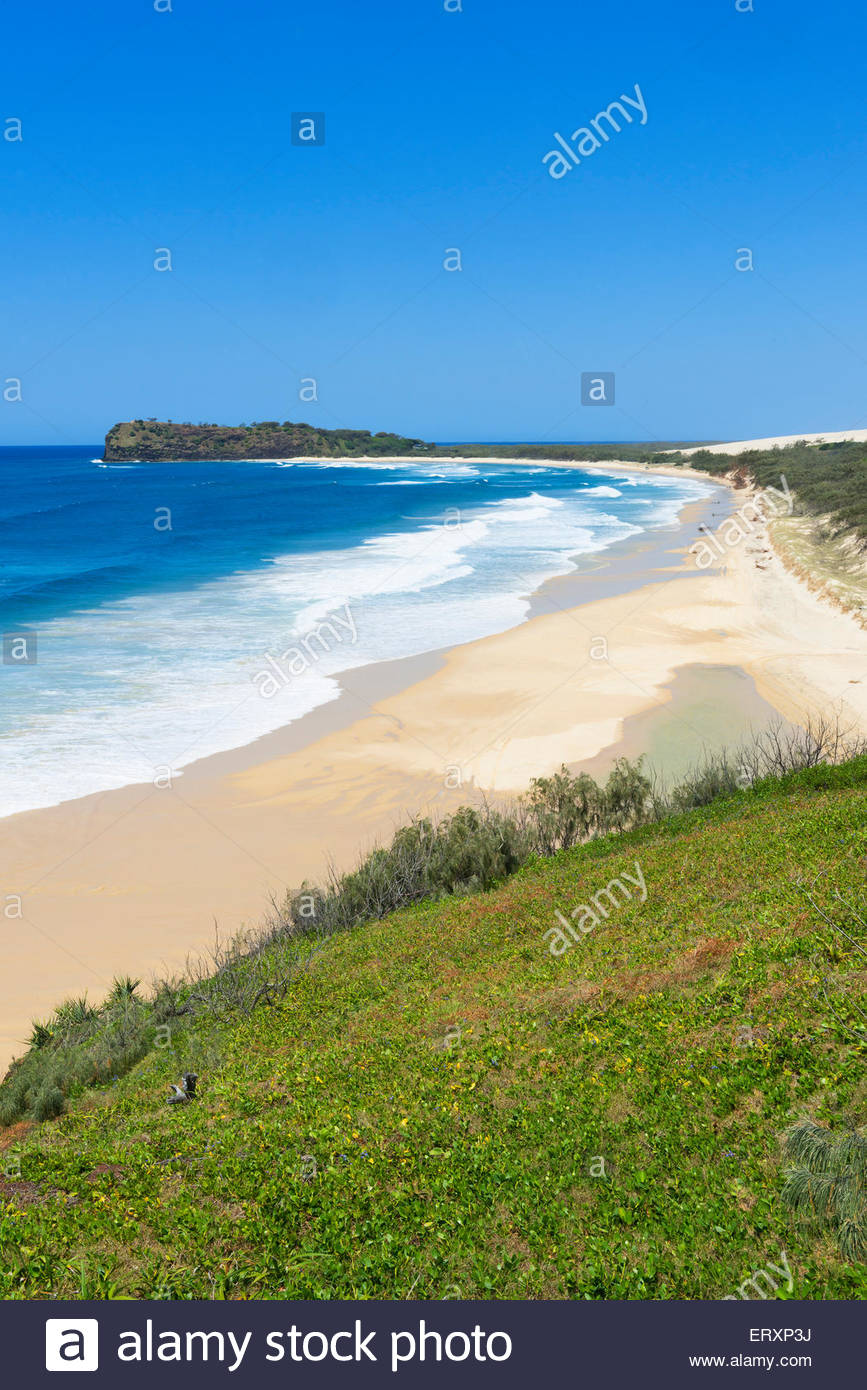 Great Sandy National Park, Fraser Island, World Heritage Area, Queensland, Australia - Stock Image