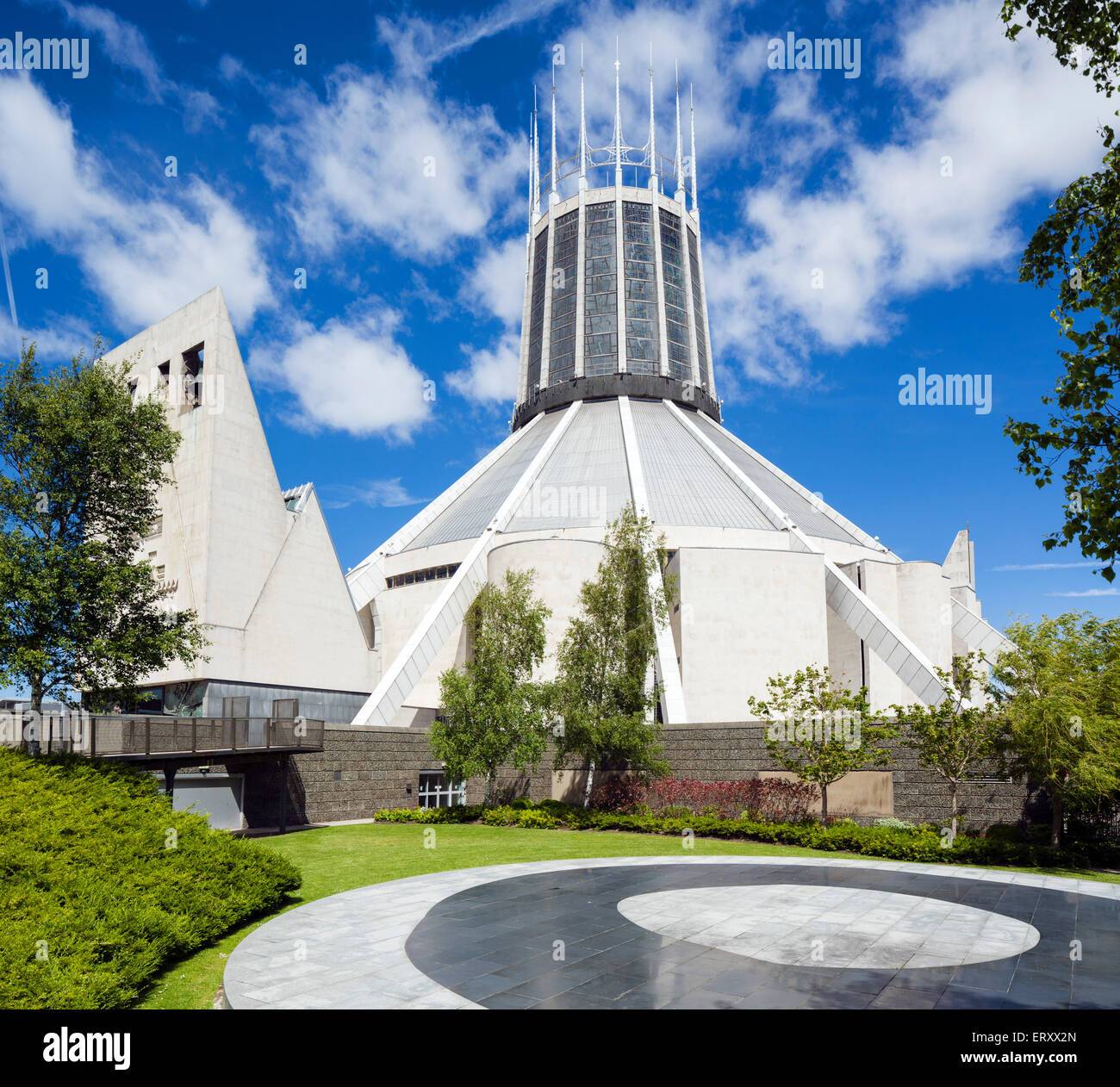 Liverpool Metropolitan Cathedral, Liverpool, Merseyside, England, UK - Stock Image