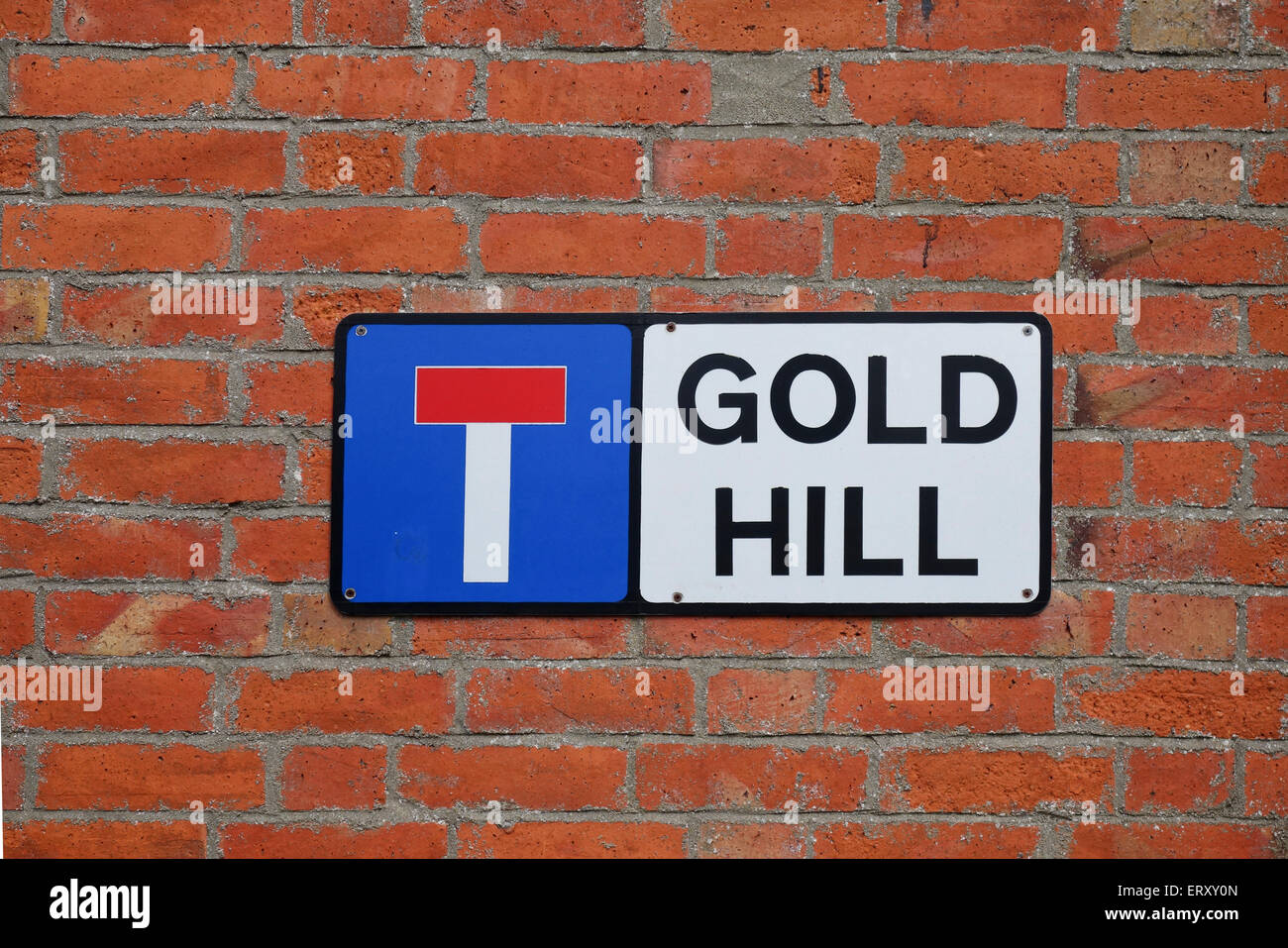 Gold Hill, Shaftesbury  - Famous for the Hovis advert, - Stock Image