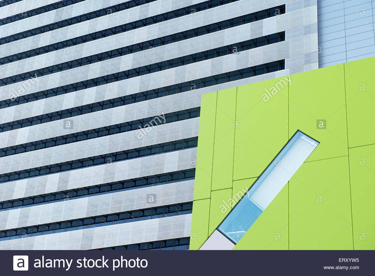 Modern architecture, Brisbane, Queensland, Australia - Stock Image