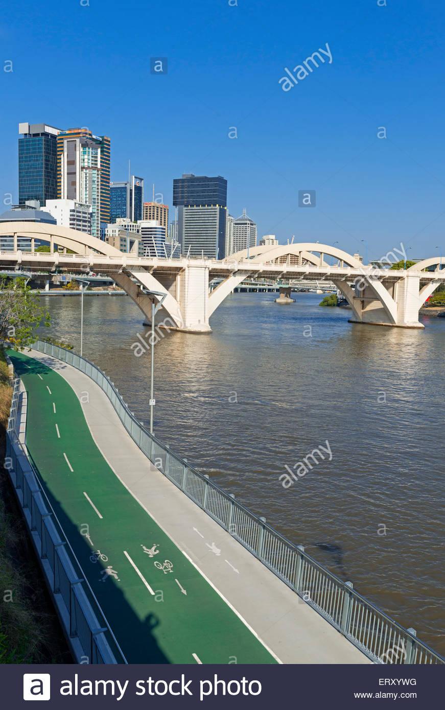 Brisbane cityscape, Queensland, Australia, Australasia - Stock Image