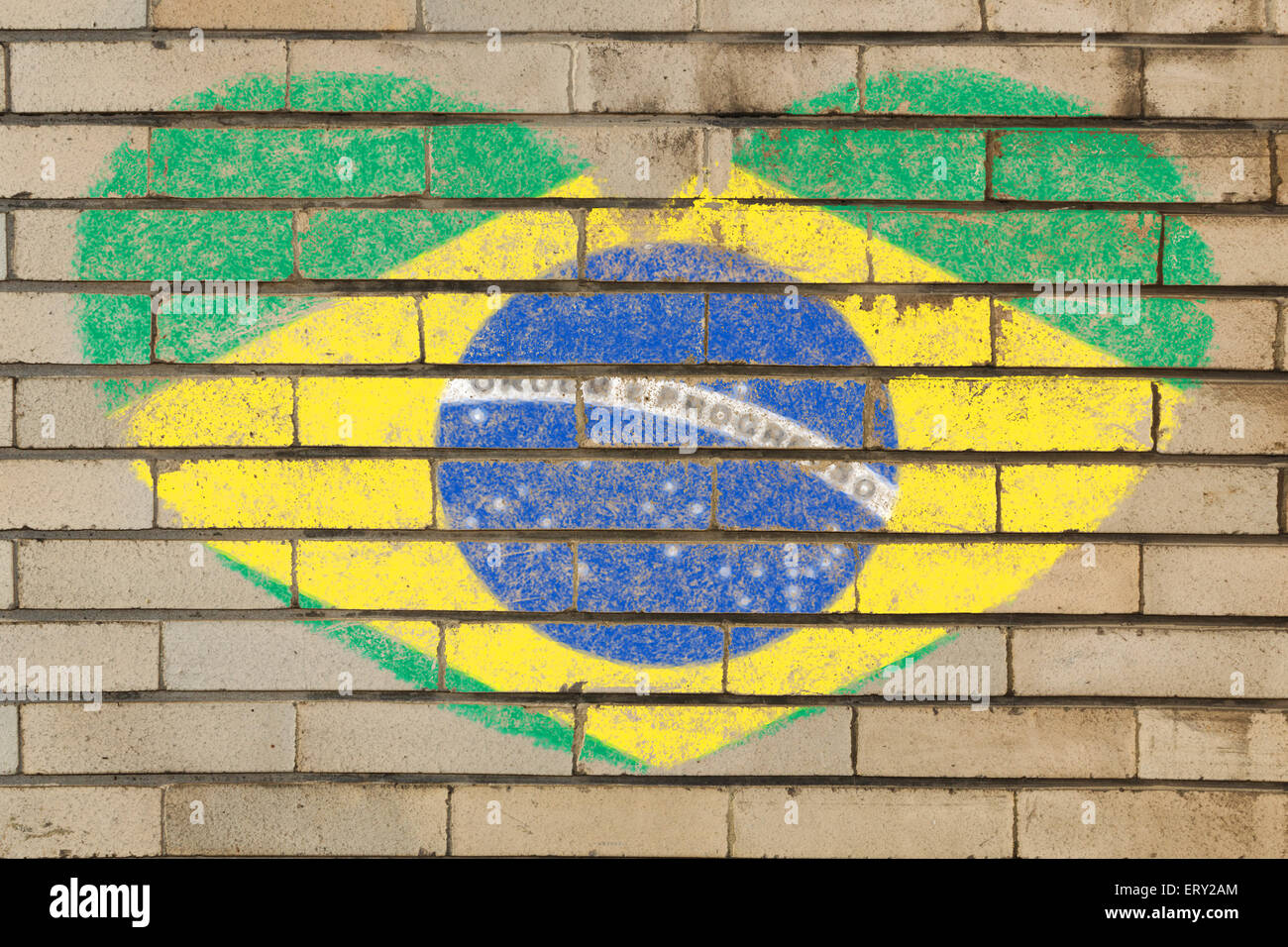 Brazil Wall Grungy Old Brick Stock Photos & Brazil Wall Grungy Old ...