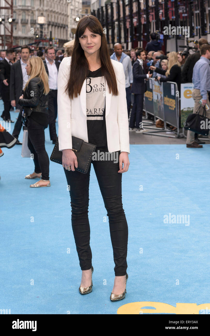 Lilah Parsons arrives on the blue carpet for the the European premiere of ENTOURAGE on 09/06/2015 at The VUE West - Stock Image