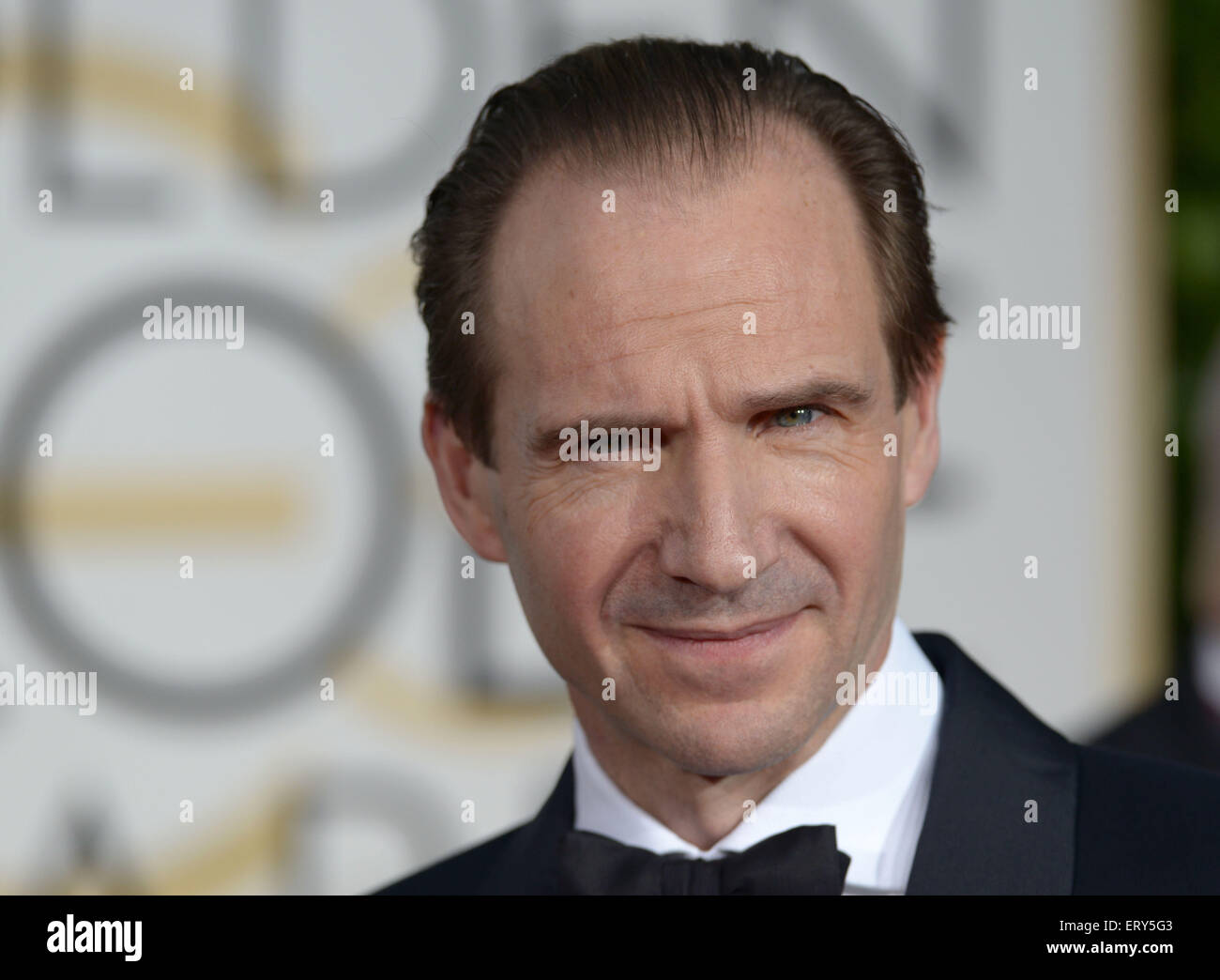 Ralph Fiennes, Los Angeles, CA - Stock Image