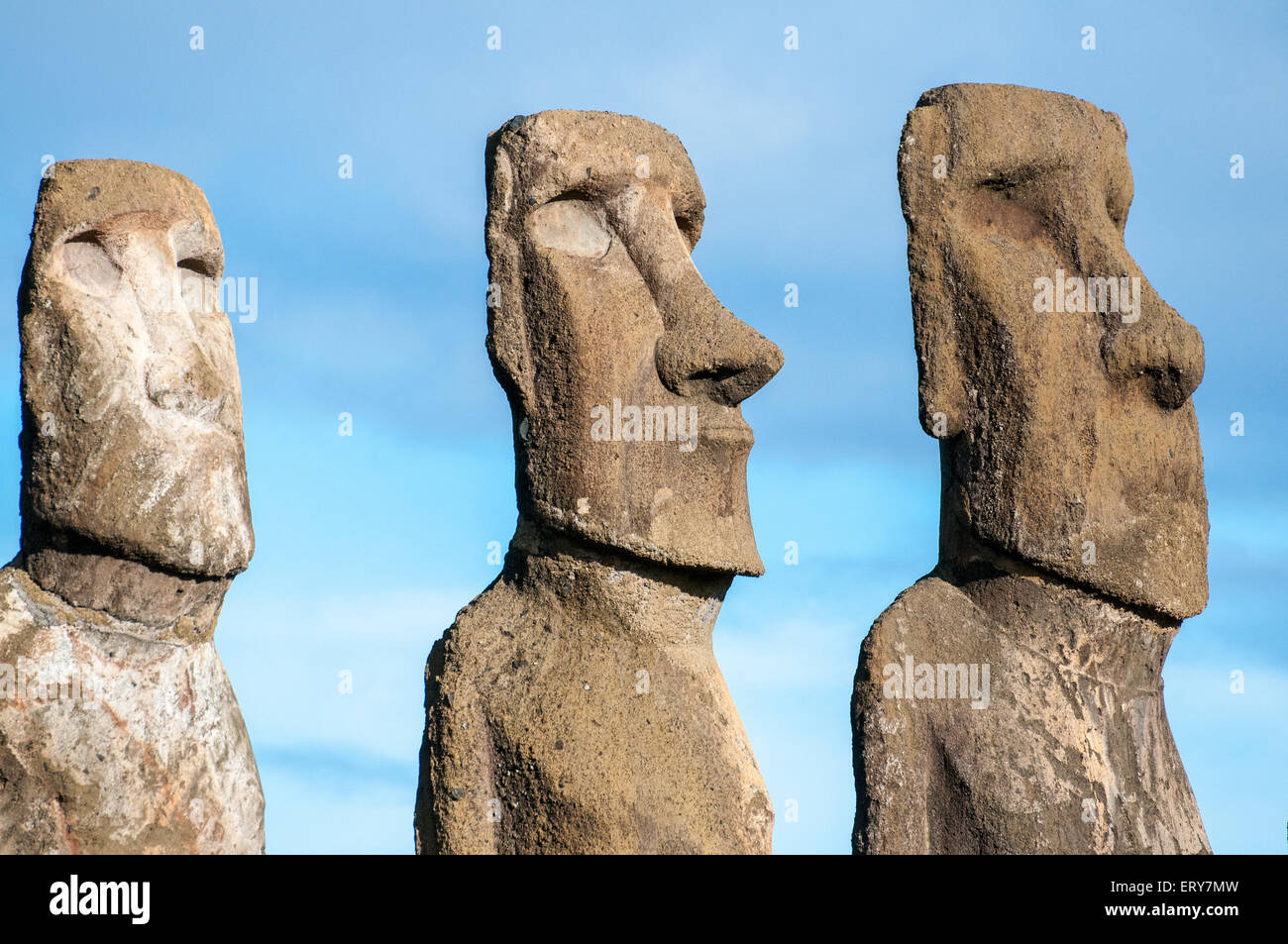 Carvings easter island moai stock photos & carvings easter island