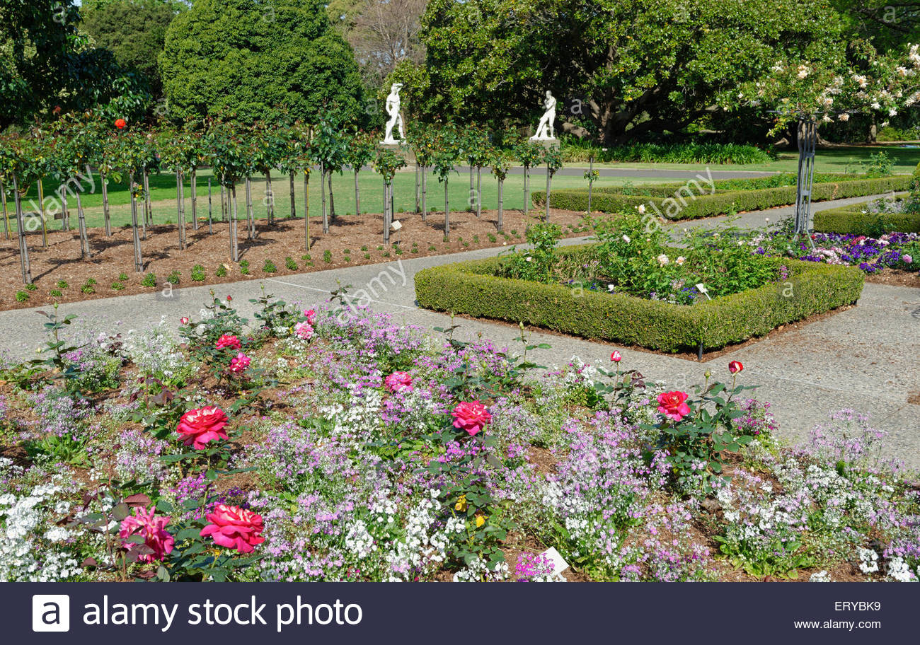 Royal Botanic Gardens, Sydney, New South Wales, Australia, - Stock Image