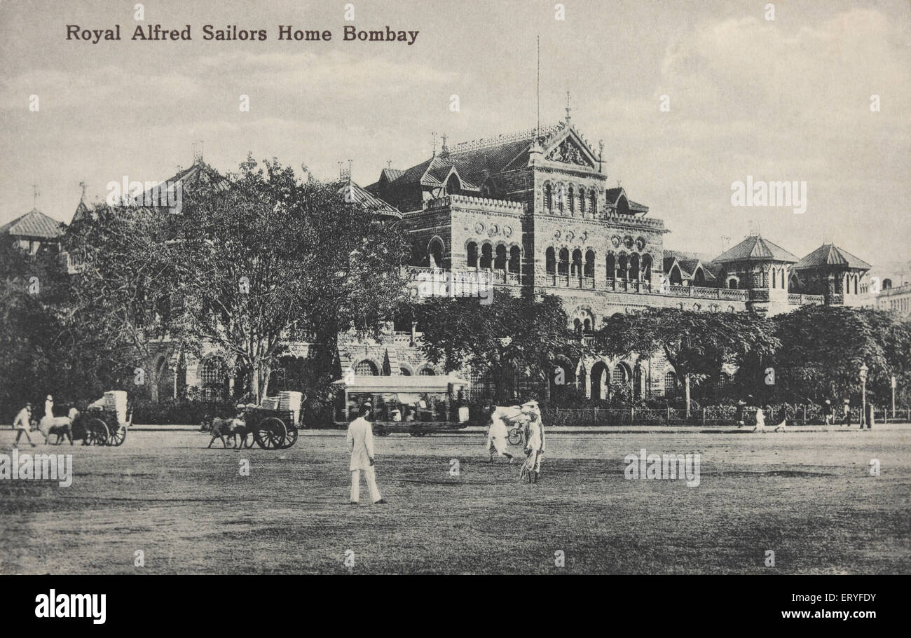 Royal alfred sailors home ; Old Bombay Mumbai ; Maharashtra ; India - Stock Image