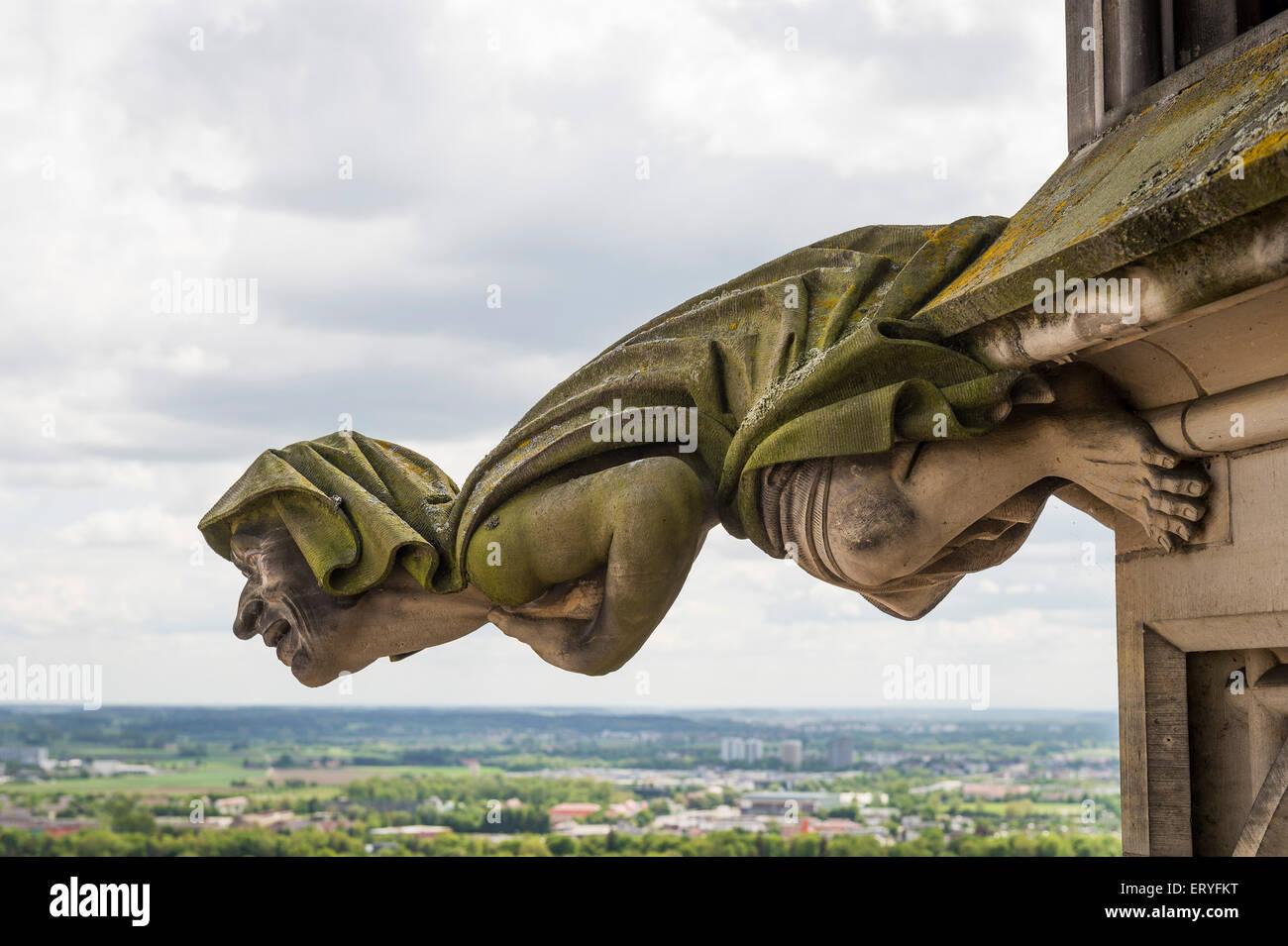 Gargoyle, Ulm Minster, Ulm, Baden-Württemberg, Germany Stock Photo