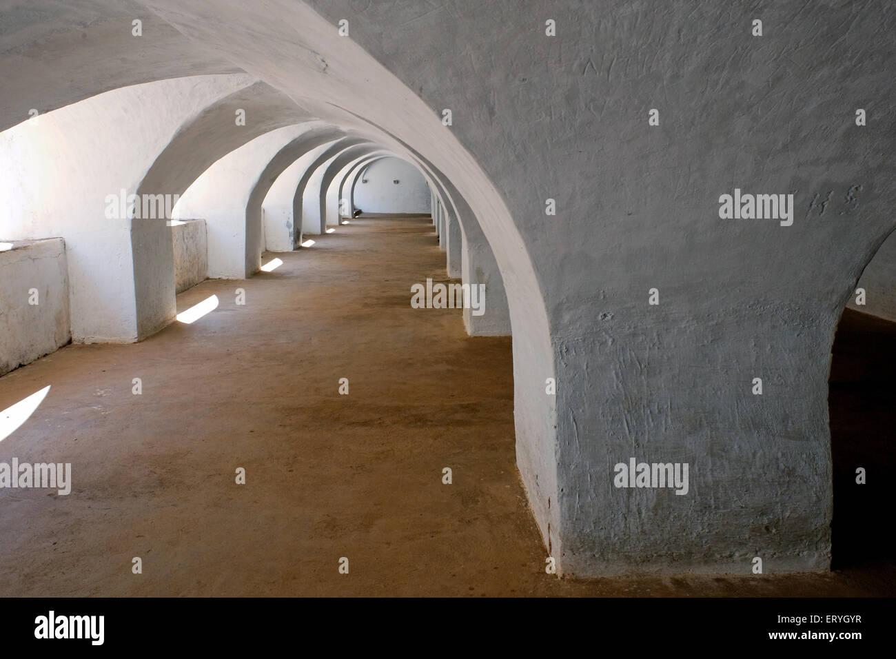 Colonel Bailey dungeon ; Srirangapatna ; Mysore ; Karnataka ; India - Stock Image