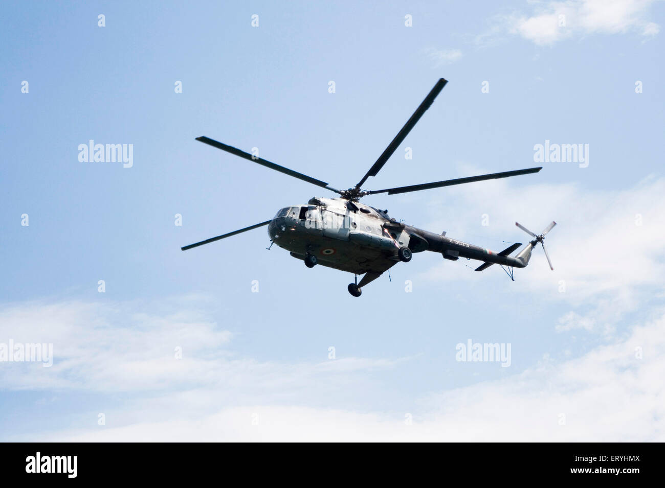 Helicopter ; India - Stock Image