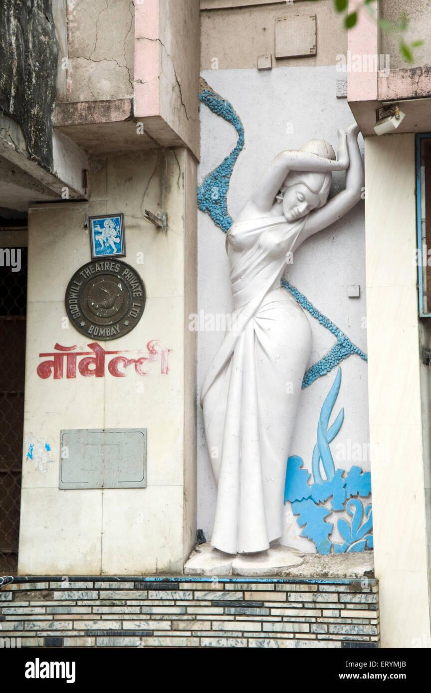 Novelty Cinema Goodwill theatres pvt ltd Grant Road Mumbai Maharashtra India Asia - Stock Image
