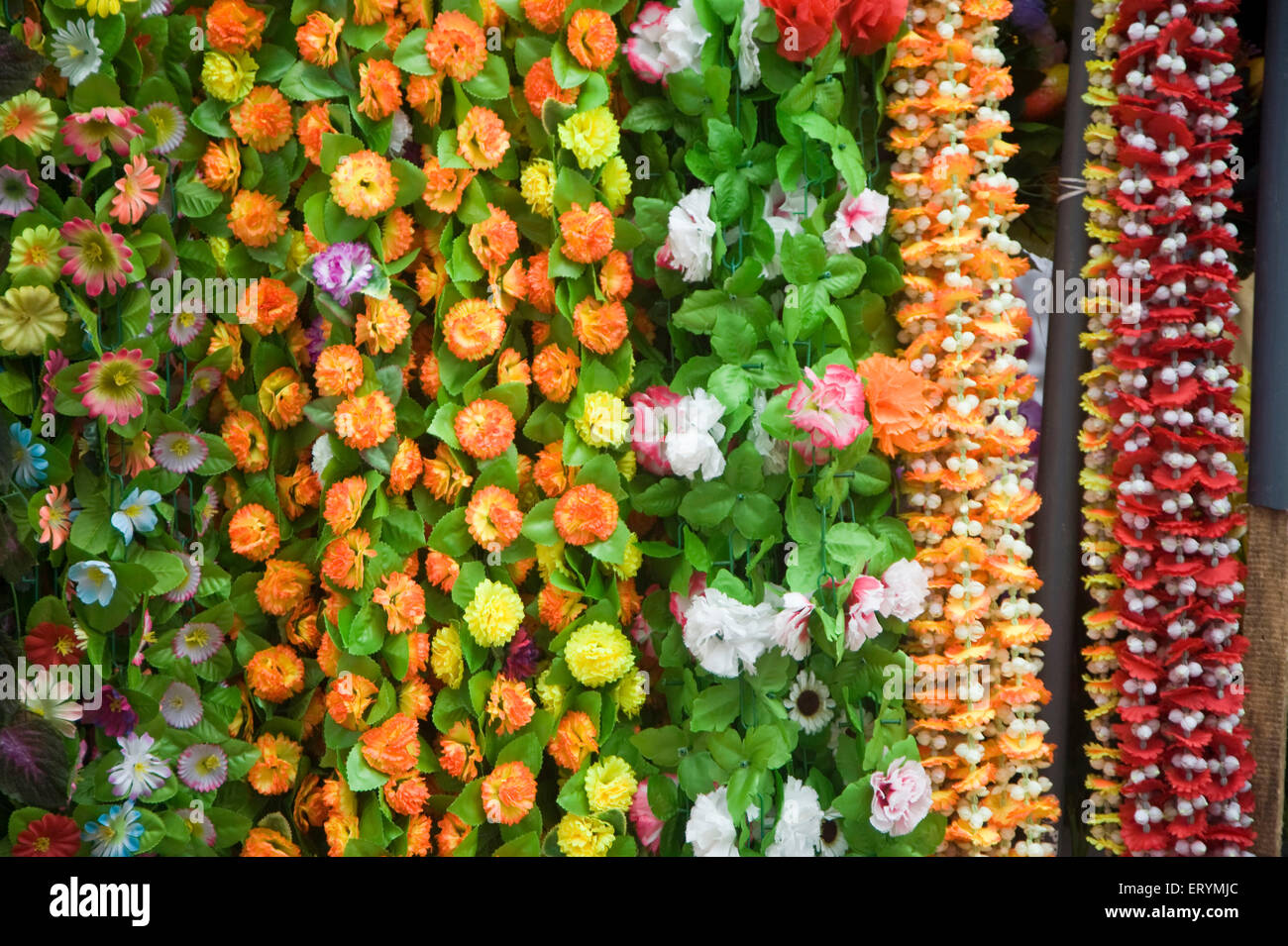 India Artificial Flowers Stock Photos India Artificial Flowers