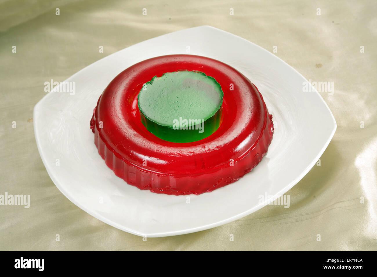 Gelatin Jelly India PR#743AH - Stock Image