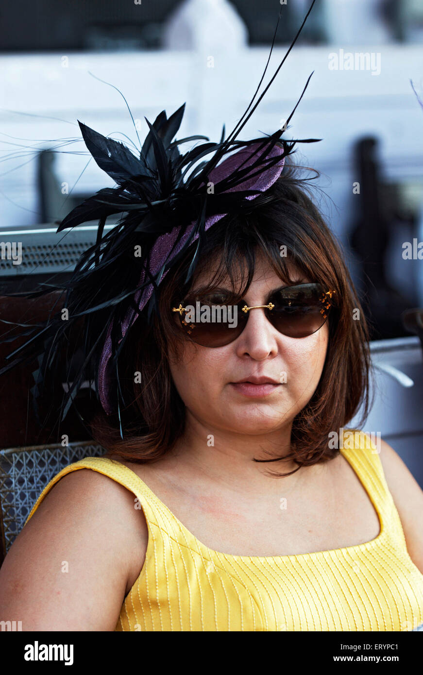 Well known poonawala family member   ; India NO MR 22 March 2009 - Stock Image