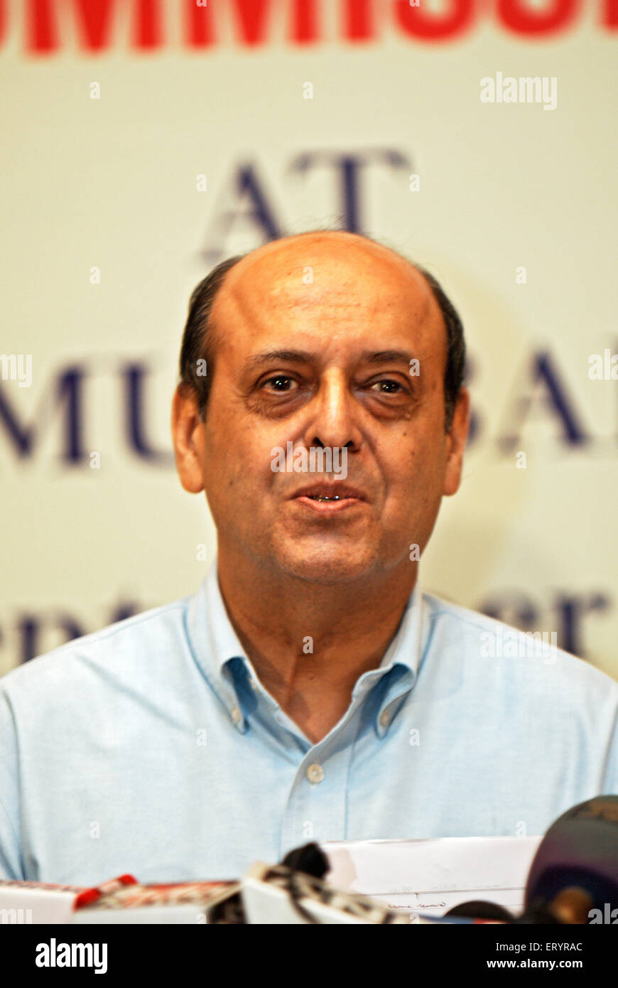 Chief election commissioner navin Chawla ; India 9 September 2009 NOMR - Stock Image