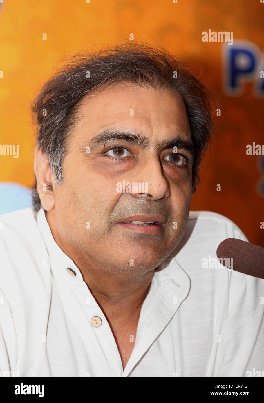 Bharatiya Janta Party BJP candidate Mahesh Jethmalani ; Bombay Mumbai ; Maharashtra ; India NO MR - Stock Image