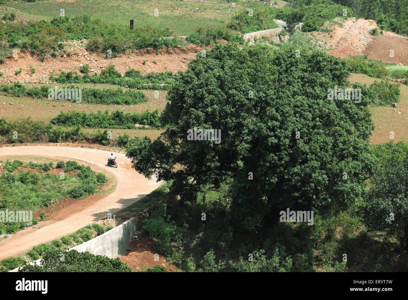 Araku valley on eastern ghats ; Vishakhapatnam ; Andhra Pradesh ; India - Stock Image