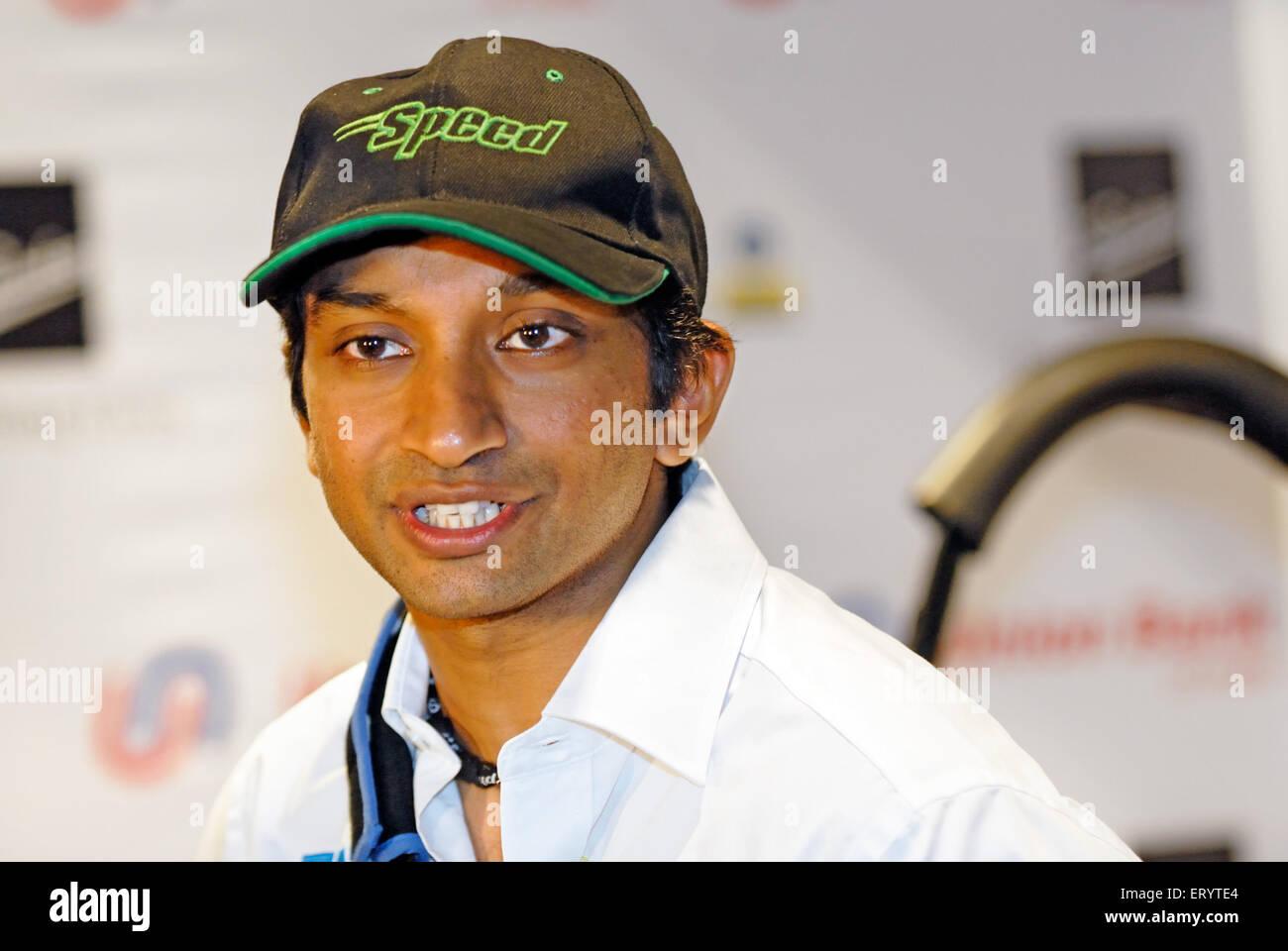 Formula one Narain karthikeyan India NOMR Stock Photo
