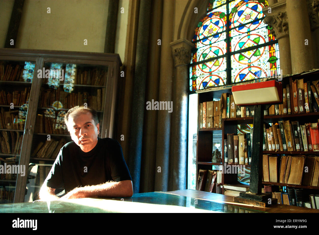 Writer and historian Sunil Khilnani - Stock Image