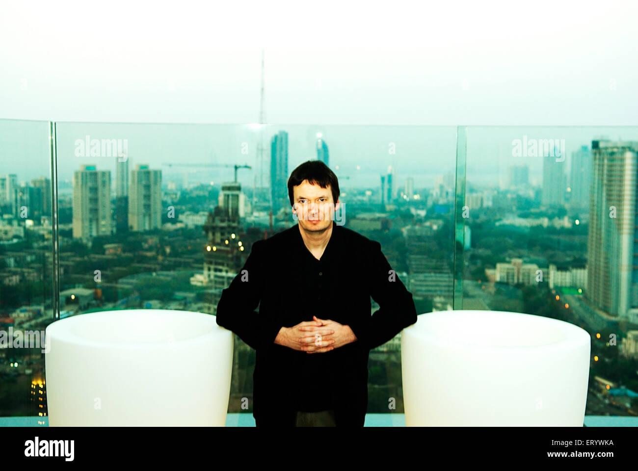British crime fiction novelist Ian ranking NOMR - Stock Image