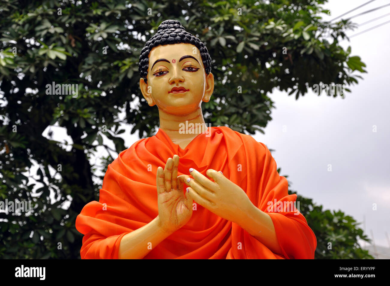 statue of lord buddha stock photo 83593063 alamy