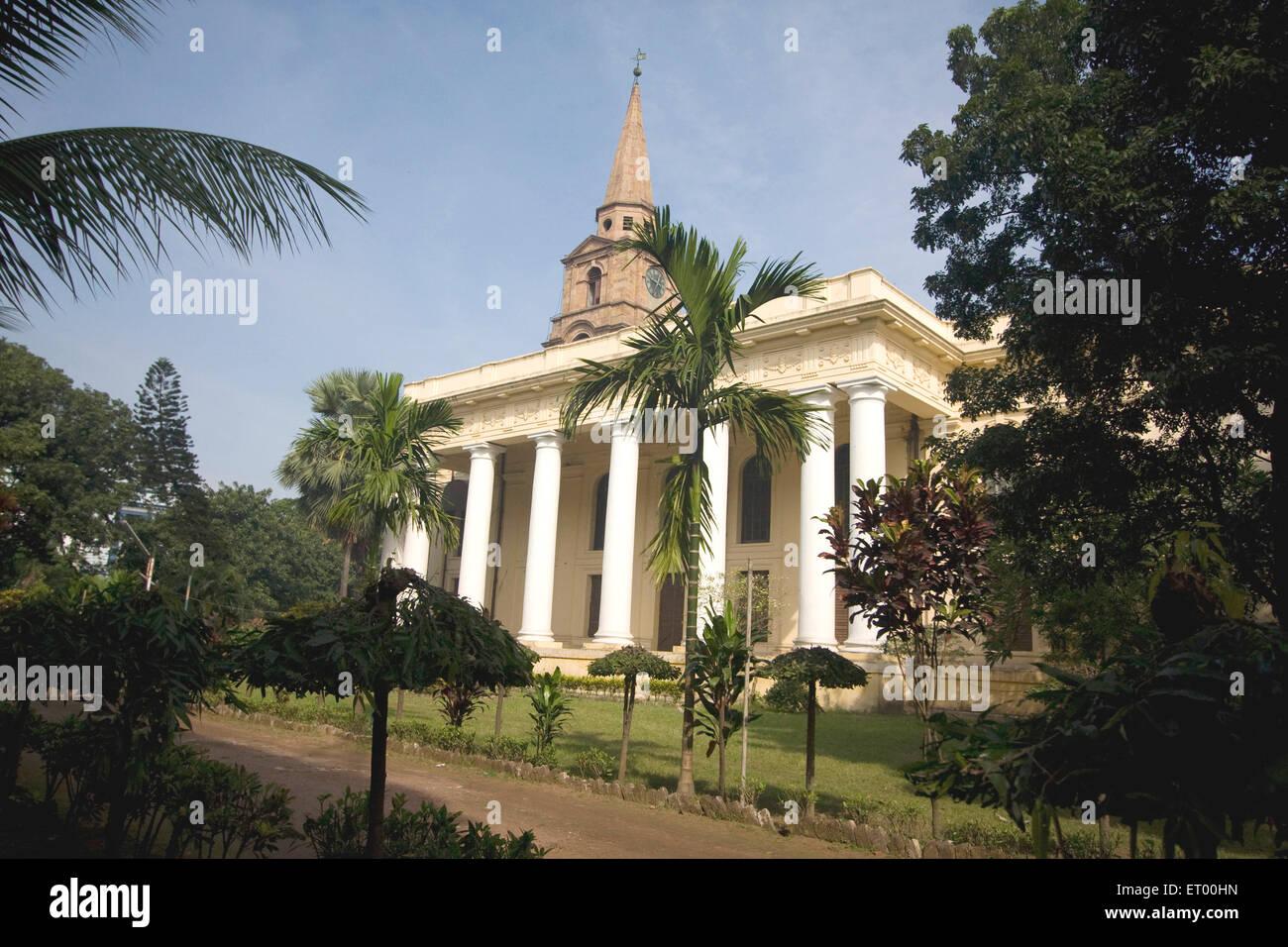 St. John church protected  monument ; Bbd Baug ; Kolkata ; West Bengal ; India Heritage - Stock Image
