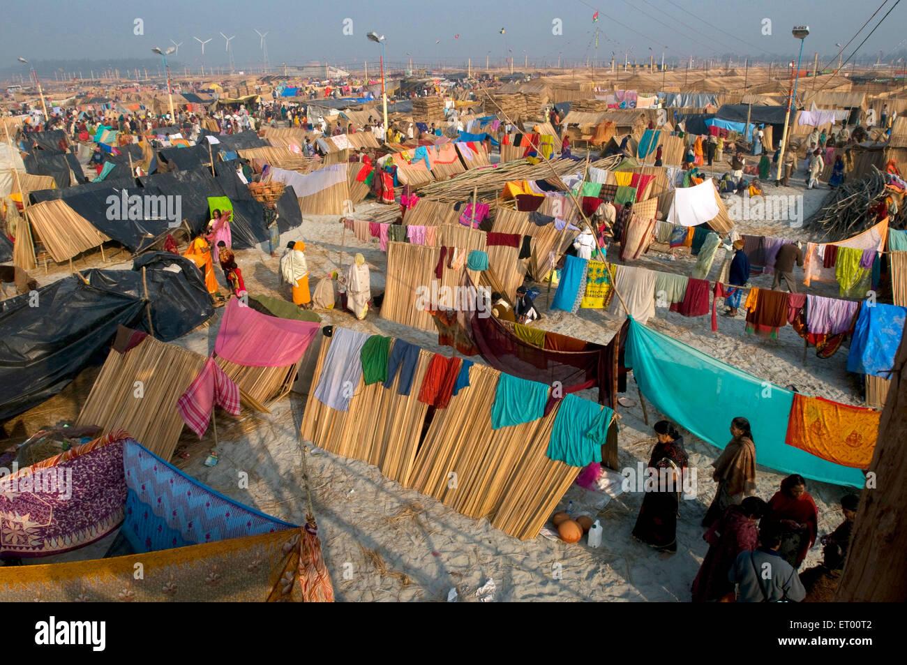 Gangasagar fair ; West Bengal ; India - Stock Image