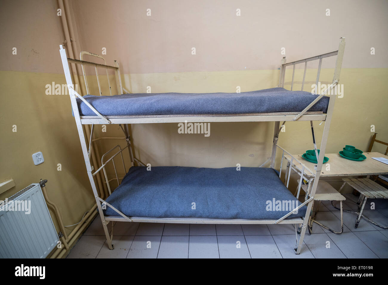 Prison Beds Stock Photos Prison Beds Stock Images Alamy