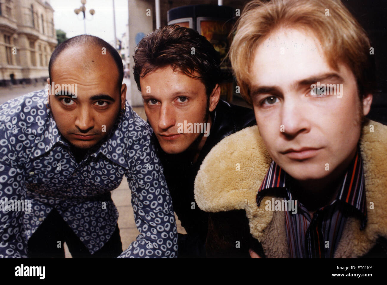 Ether, alternative rock band from Blackwood, Caerphilly, Wales formed in 1996.  active 1996 - 1999 Band members, - Stock Image