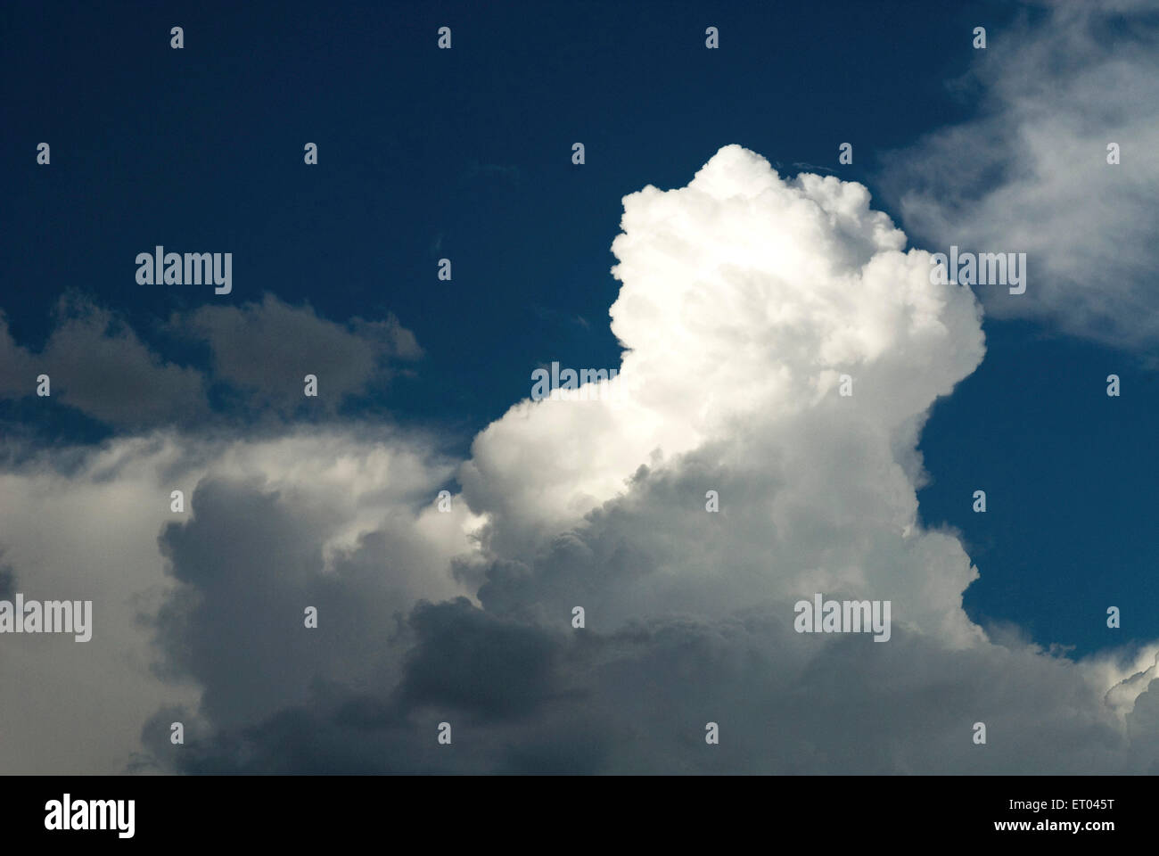 Cloud formation during monsoon ; Bangalore ; Karnataka ; India - Stock Image
