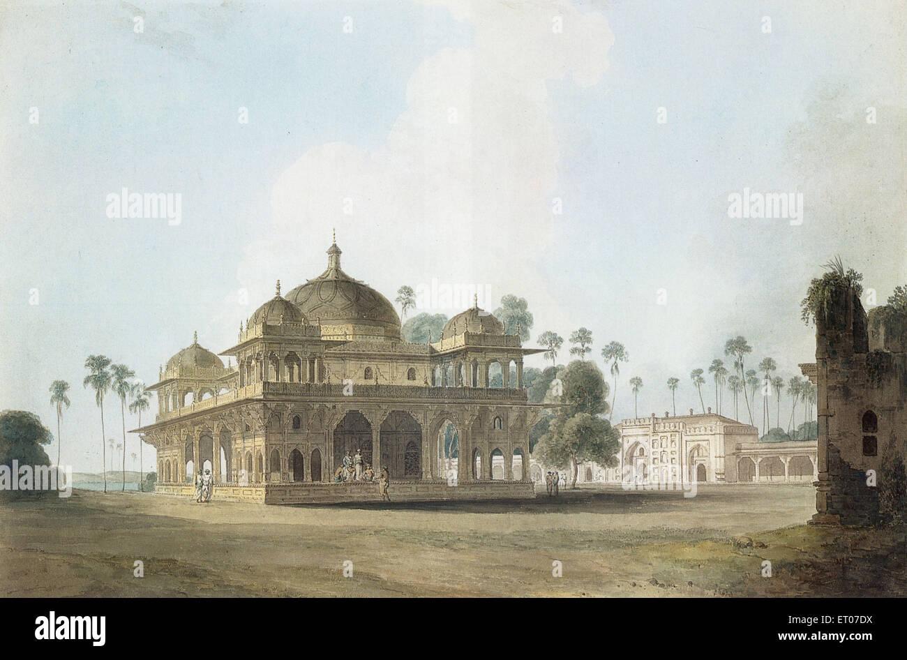 Mausoleum of Makhdum Shah Daulat ; Bihar ; India - Stock Image